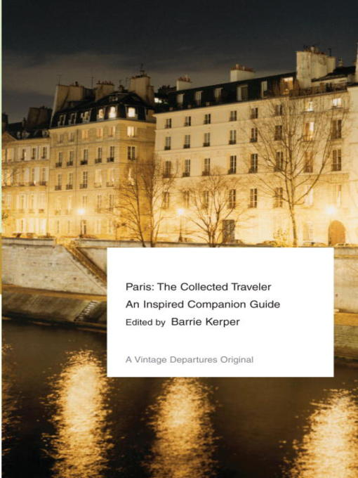 Title details for Paris by Barrie Kerper - Available