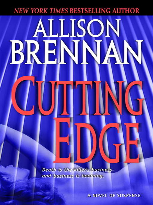 Title details for Cutting Edge by Allison Brennan - Wait list