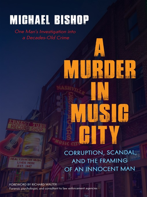 Title details for A Murder in Music City by Michael Bishop - Available