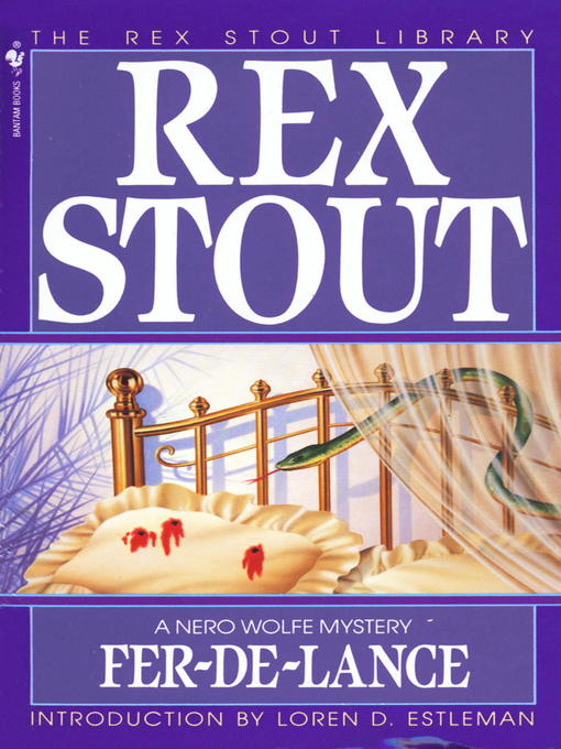 Title details for Fer-de-Lance by Rex Stout - Available