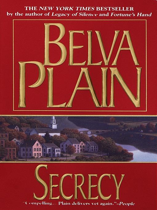 Title details for Secrecy by Belva Plain - Available