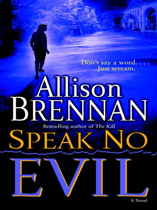 Cover of Speak No Evil