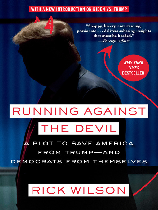 Title details for Running Against the Devil by Rick Wilson - Wait list
