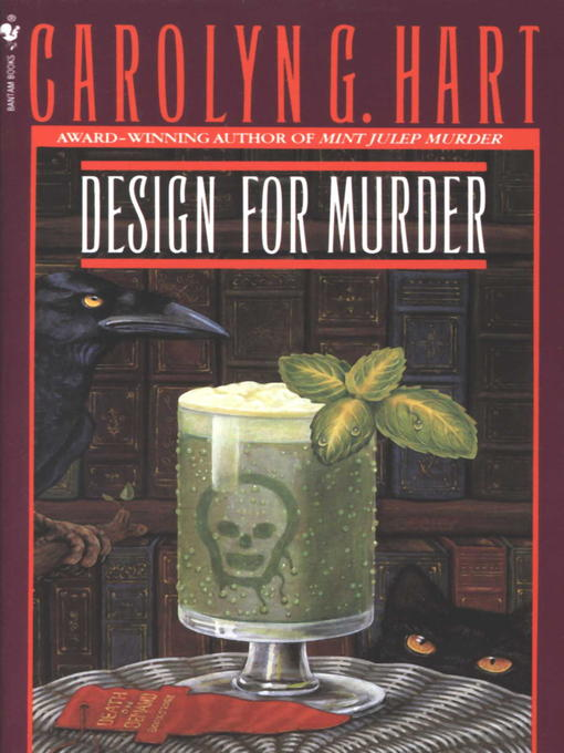 Title details for Design for Murder by Carolyn Hart - Available