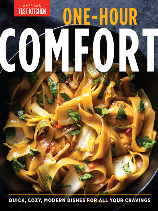 Title details for One-Hour Comfort by America's Test Kitchen - Wait list