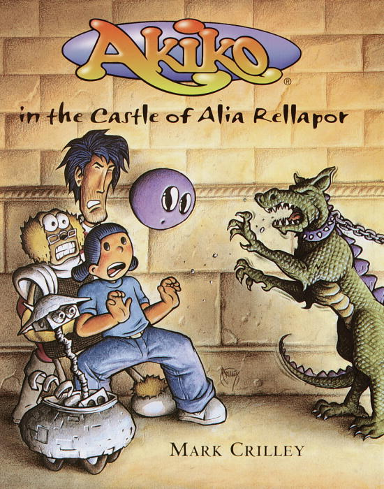 Cover of Akiko in the Castle of Alia Rellapor