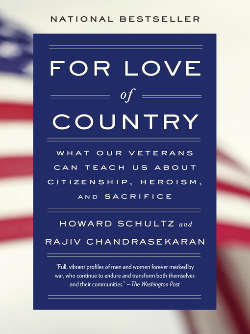 Title details for For Love of Country by Howard Schultz - Available