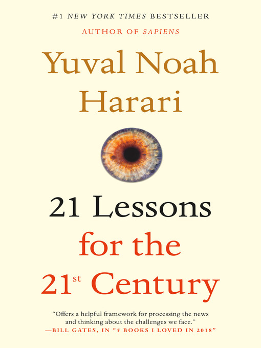 Title details for 21 Lessons for the 21st Century by Yuval Noah Harari - Wait list