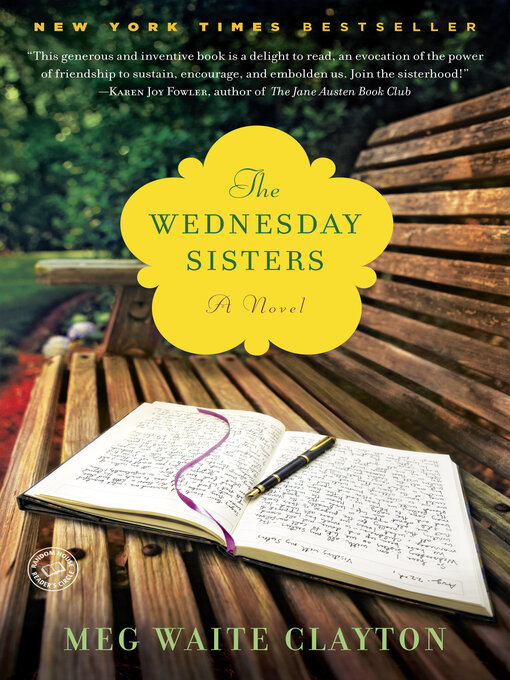 Title details for The Wednesday Sisters by Meg Waite Clayton - Available