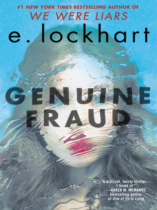 Title details for Genuine Fraud by E. Lockhart - Available