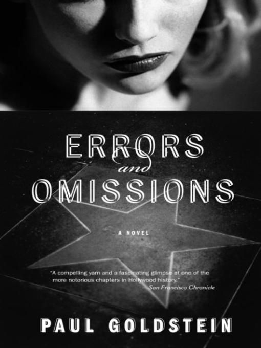 Title details for Errors and Omissions by Paul Goldstein - Available