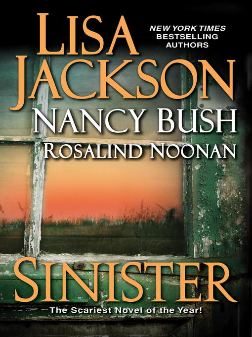 Title details for Sinister by Lisa Jackson - Wait list