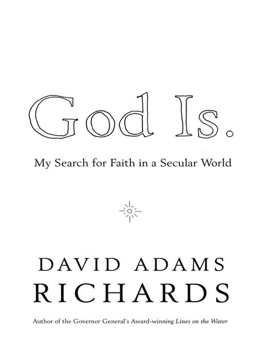 Cover of God Is.