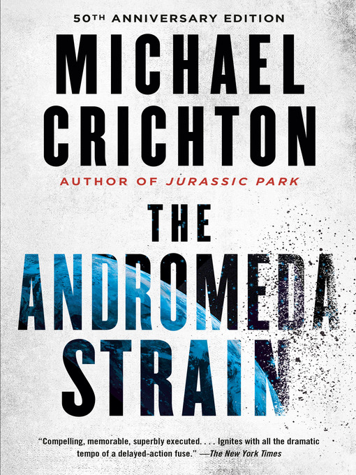 Title details for The Andromeda Strain by Michael Crichton - Wait list