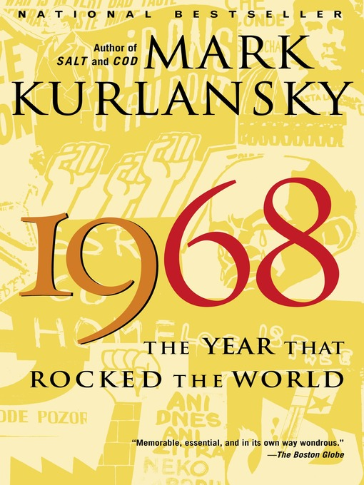 Title details for 1968 by Mark Kurlansky - Wait list