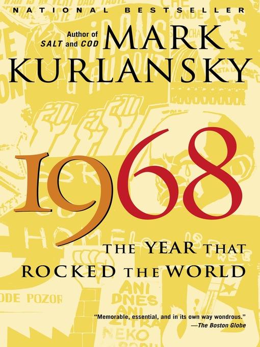 Title details for 1968 by Mark Kurlansky - Wait list