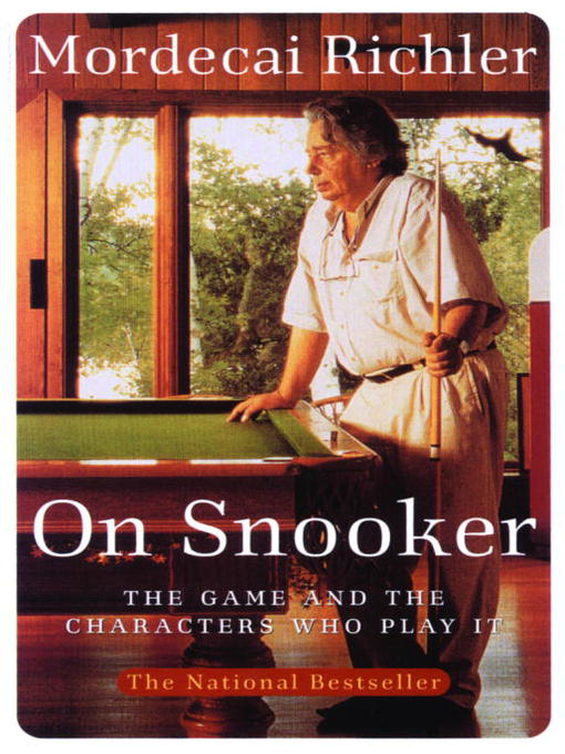 Title details for On Snooker by Mordecai Richler - Available