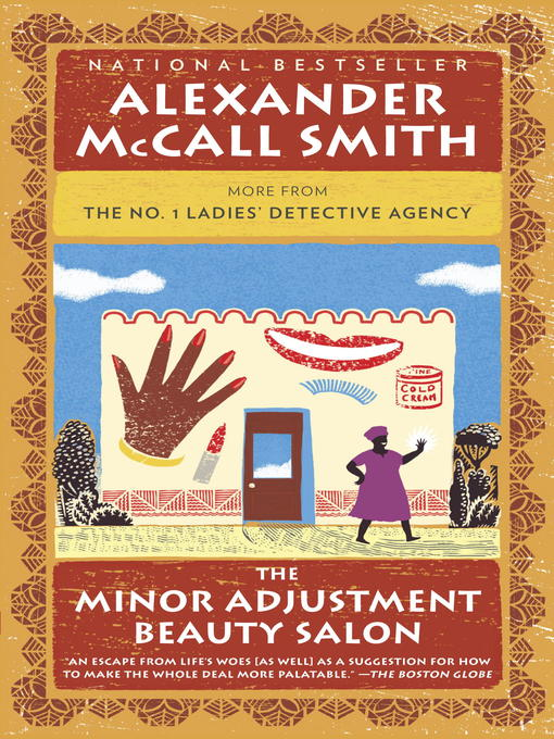 Title details for The Minor Adjustment Beauty Salon by Alexander McCall Smith - Wait list