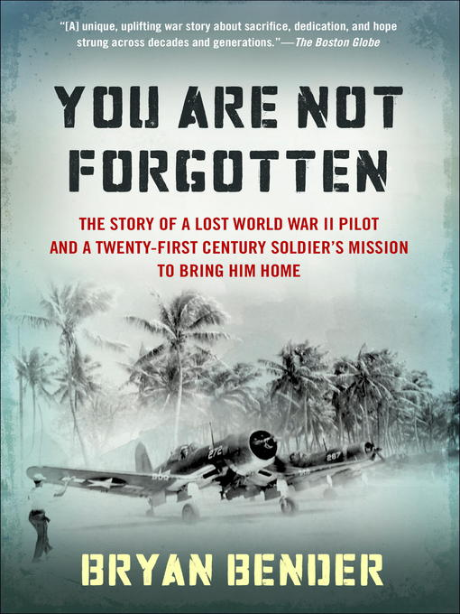 Title details for You Are Not Forgotten by Bryan Bender - Available
