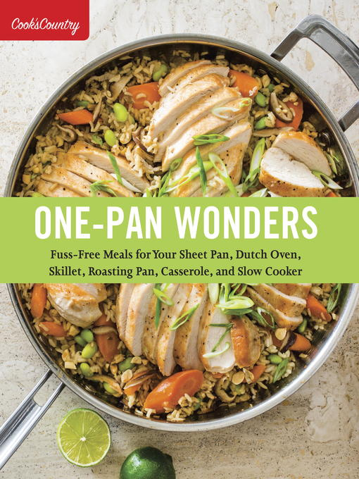 Title details for One-Pan Wonders by Cook's Country - Available
