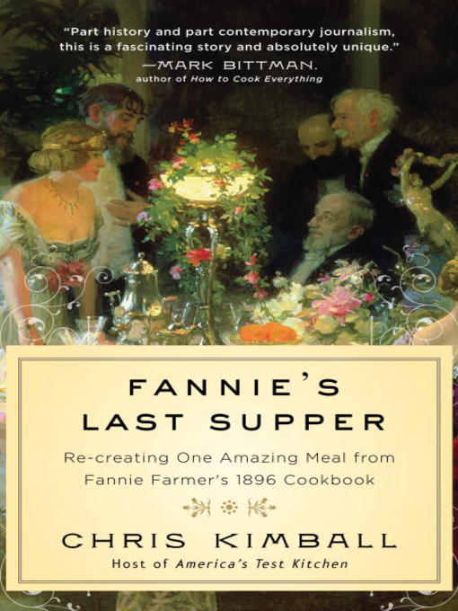 Title details for Fannie's Last Supper by Chris Kimball - Available