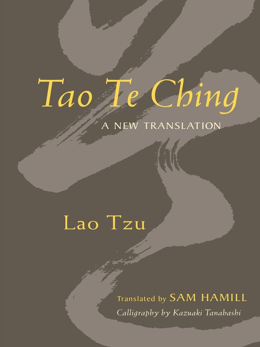 Title details for Tao Te Ching by Sam Hamill - Wait list