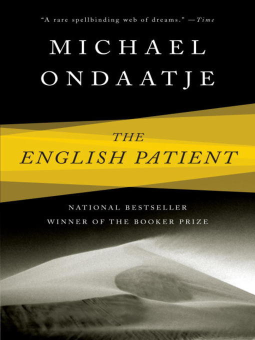 Title details for The English Patient by Michael Ondaatje - Wait list