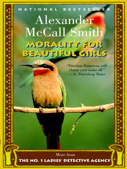 Title details for Morality for Beautiful Girls by Alexander McCall Smith - Wait list