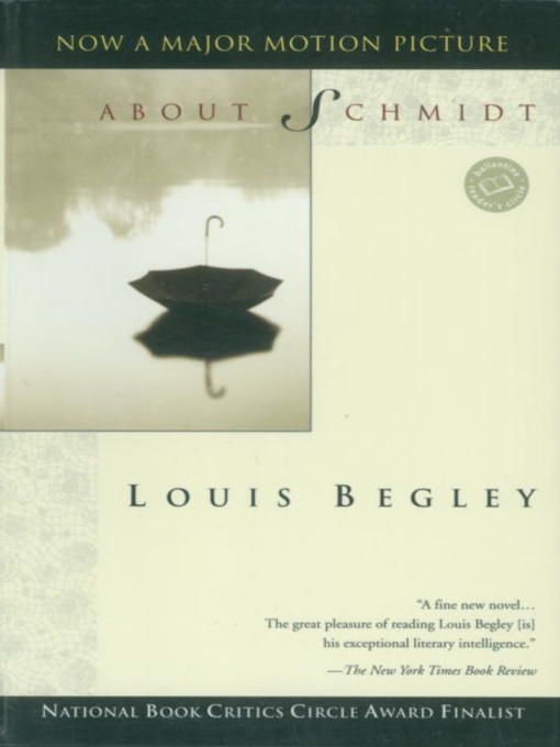Title details for About Schmidt by Louis Begley - Available