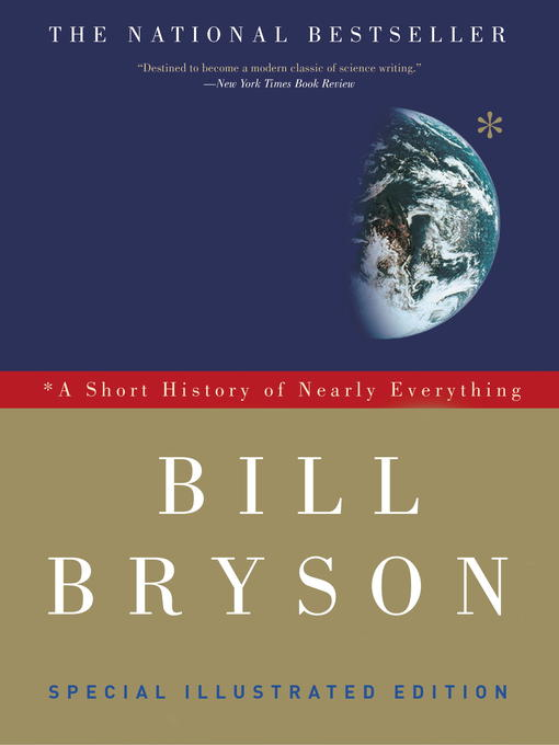 Title Details For A Short History Of Nearly Everything By Bill Bryson