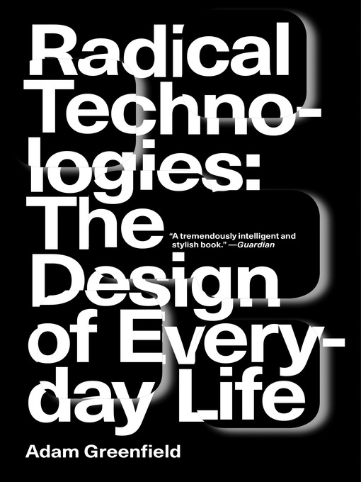 Cover of Radical Technologies