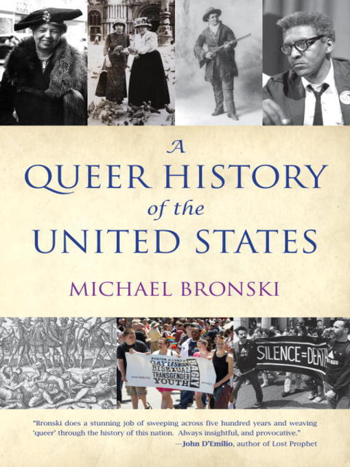 Title details for A Queer History of the United States by Michael Bronski - Available
