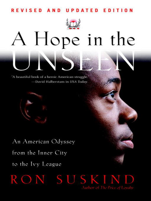 Title details for A Hope in the Unseen by Ron Suskind - Available