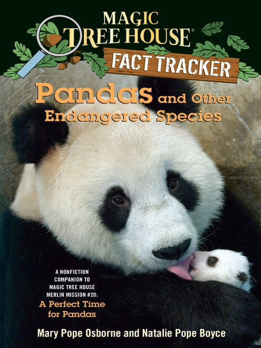 Title details for Pandas and Other Endangered Species by Mary Pope Osborne - Wait list