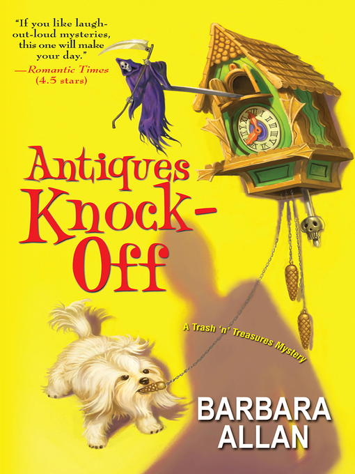 Title details for Antiques Knock-Off by Barbara Allan - Available