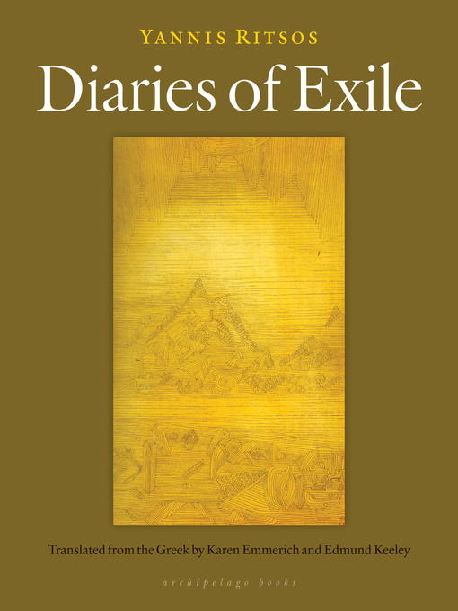 Title details for Diaries of Exile by Yannis Ritsos - Available