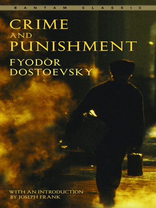 Title details for Crime and Punishment by Fyodor Dostoevsky - Wait list
