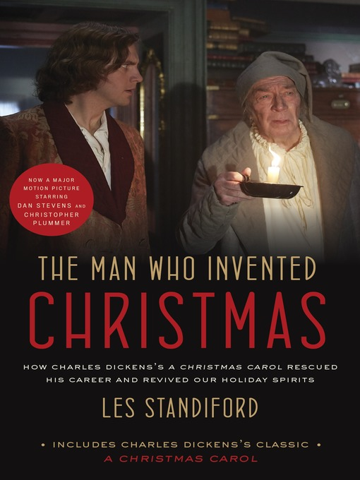 title details for the man who invented christmas movie tie in by les