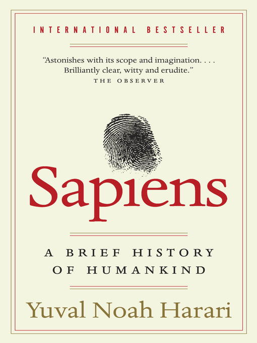 Title details for Sapiens by Yuval Noah Harari - Wait list