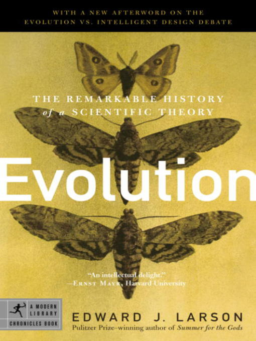Title details for Evolution by Edward J. Larson - Available