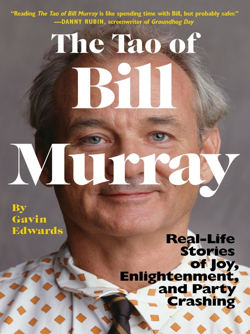 Cover of The Tao of Bill Murray