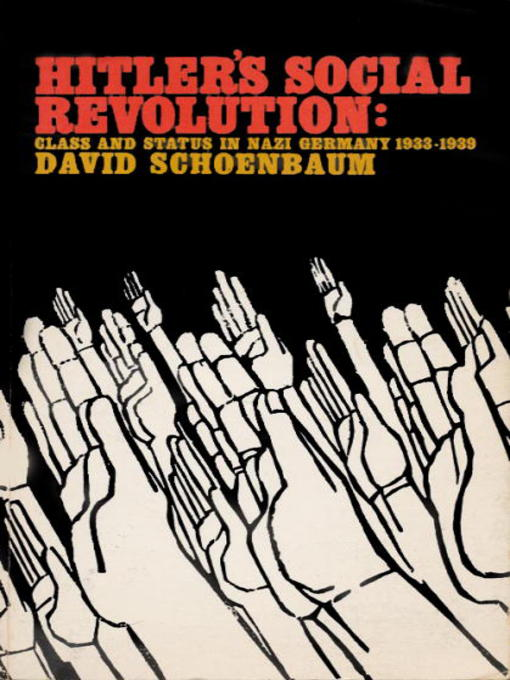 Cover of Hitler's Social Revolution