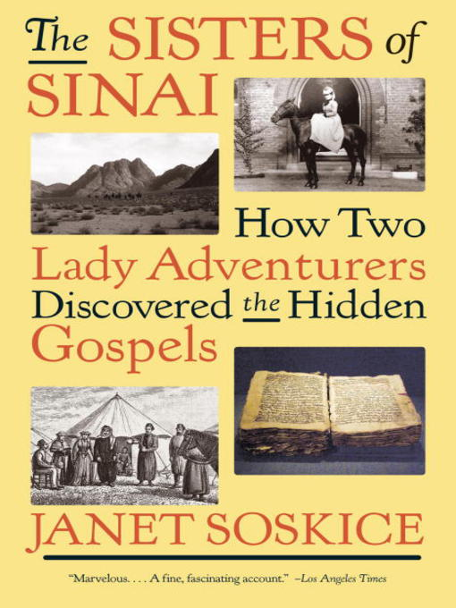 Title details for The Sisters of Sinai by Janet Soskice - Wait list