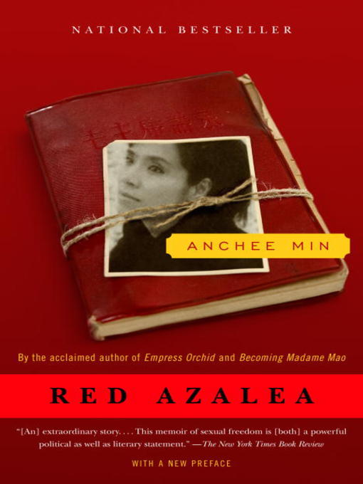 Title details for Red Azalea by Anchee Min - Wait list