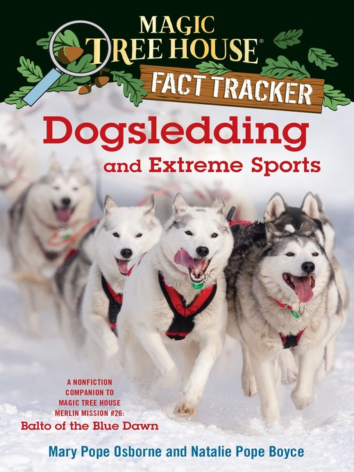 Cover of Dogsledding and Extreme Sports