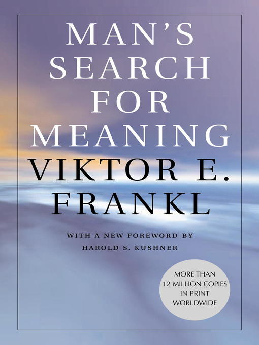 Cover of Man's Search for Meaning