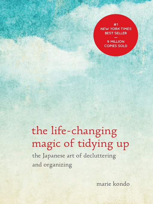 Life Changing Magic of Tidying Up book cover