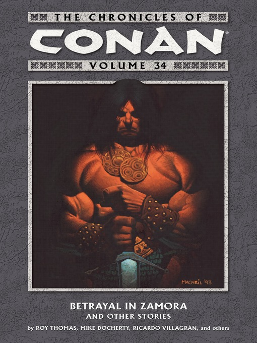 Title details for The Chronicles of Conan, Volume 34 by Various - Available