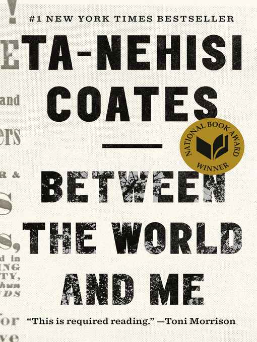 Cover image for book: Between the World and Me