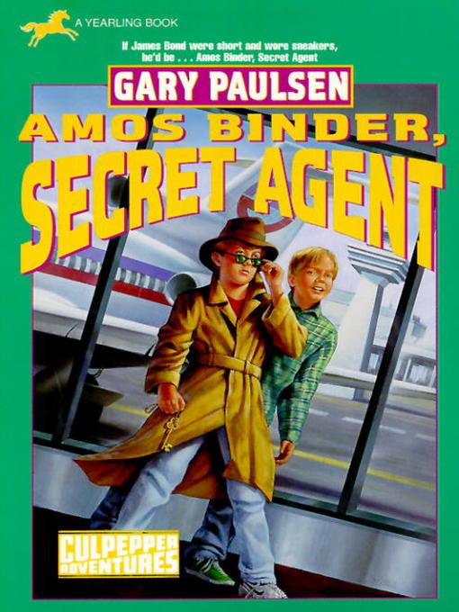 Title details for Amos Binder, Secret Agent by Gary Paulsen - Wait list